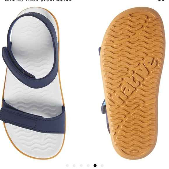 Native Sandals blue